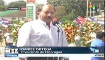 """Daniel Ortega rinde homenaje a Chávez, """"el comandante de los pueblos"""""""