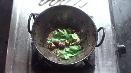 Verusenaga Pachhadi - Groundnut Chutney Preparation in Telugu