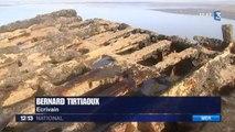 Une épave ressurgit 100 ans après son naufrage dans le Pas-de-Calais