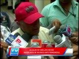 Chiclayo: Alcade de Chiclayo en silencio ante cuestionamiento de periodistas 05 03 14