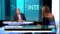 L'ENTRETIEN - António Guterres, Haut Commissaire des Nations unies pour les réfugiés