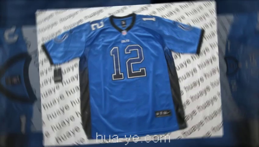 19$ NFL Indianapolis Colts Andrew Luck Jersey Wholesale 12 Blue Home And Away Game Jersey Cheap Wholesale From China