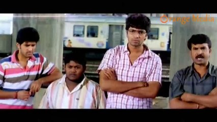 Allari Naresh And His Friends Going To Suside Spot Railway Track From Roommates Movie
