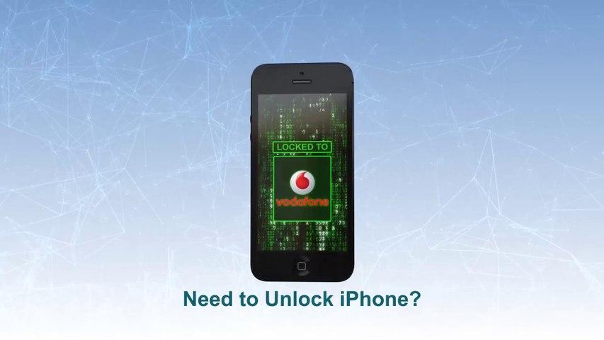 Vodafone Unlock iPhone 5S   5C   5  4S   4   3GS  -  Video