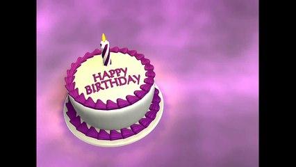 ♫♫♫ Joyeux anniversaire ♫