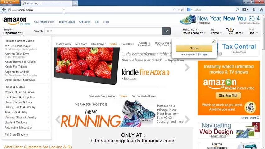amazon gift card code generator online - amazon promotional codes