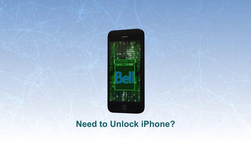 Bell Unlock iPhone 5S   5C   5  4S   4   3GS  -  Video