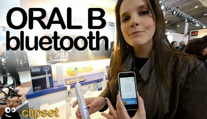 Oral B Bluetooth app preview Videorama #MWC14