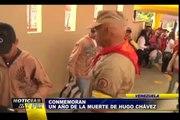 Noticias de las 7: Venezuela conmemora un año de la muerte de Hugo Chávez (1/2)