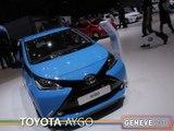 La Toyota Aygo en direct du salon auto de Genève 2014