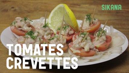 Tomates - crevettes