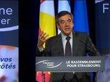 Quand François Fillon raille le casque de François Hollande - 26/03