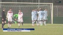 U18 : Buts d'Allemagne-France : 1-3