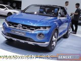 Le Volkswagen T-ROC Concept en direct du salon de Genève 2014