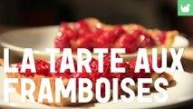 La tarte aux framboises - recette tarte facile - HD