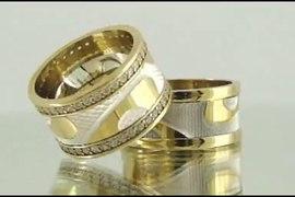 Alyanschi Gumus Alyans Altin Kaplama Gumus Alyans Gold Plate