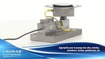 PV80 \ PV80Z – Accessoires de montage pour capteurs de pesage FTP – FTK - FTZ – LAUMAS