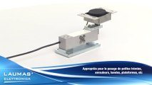 T8AZL-AZS-T8AM   –  Accessoires de montage pour capteurs de pesage AZL-AZS (max 200kg) AZLI (max 50 kg) AM (max 300kg) – LAUMAS