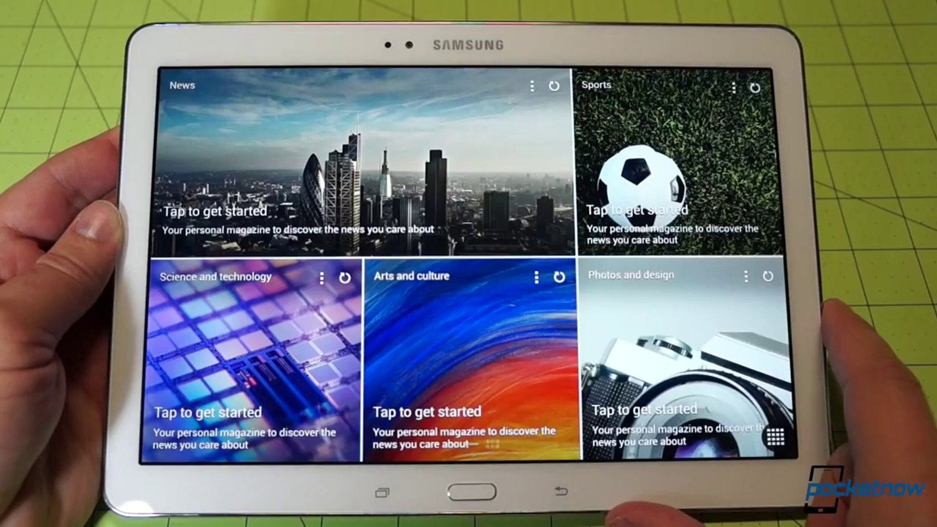 Samsung Galaxy Tab Pro 10.1  Unboxing and Hardware Tour
