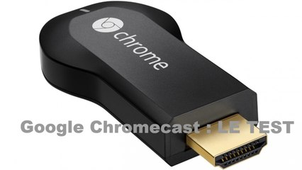 Test Google Chromecast