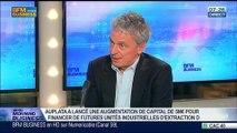 Auplata veut industrialiser la production d'or en Guyane: Jean-François Fourt, dans GMB – 07/03