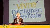 """1ère partie : """" Vivre  mieux ensemble """" - Réunion publique du 4 mars 2014 - Vivre Frontignan la Peyrade - Pierre Bouldoire 2014"""