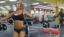 Awesome Female Fitness Motivation! LIKE and SHARE! _ Watch Facebook Videos -Biskra7Mob-2013