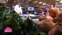 Stéphane Le Foll cuisine un savoureux sauté de cochon fermier au Salon de l'Agriculture - [02/03/2014]