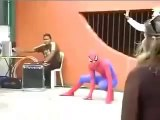 there goes the reputation spiderman! Lol