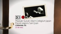 TV3 - 33 recomana - Maasaki Suzuki i Bach Collegium Japan. Passió segons Sant Joan. Cicle de músi