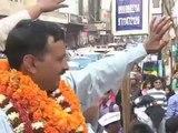Aam Aadmi Party:Jhadu Chalao Yatra Day 7