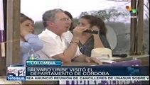 Córdoba, Colombia, bastión electoral de Alvaro Uribe