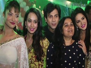 Sunny Leone Promotes Ragini MMS 2 On Pavitra Rishta Sets