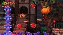 Donkey Kong Country: TF. Macedonia mortal 5-3 - Gameplay - 100% puzzles,letras y salida secreta