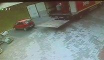 Unloaded a truck like a boss... almost dead, epic fAIL!