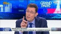 Émission spéciale Municipales à Vincennes: Laurent Lafon, François De Landes et Pierre Serne, dans Grand Paris - 08/03 1/2