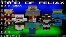 How to install Mind of Feliax Resource Pack for Minecraft 1.7.5