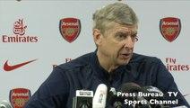 Arsene Wenger pre Arsenal vs Everton
