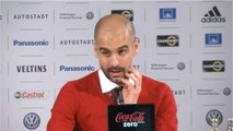 Guardiola congratulates free-scoring Bayern