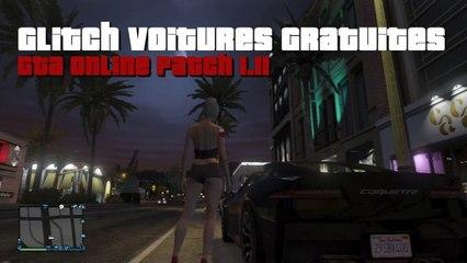 GTA Online  - Tuto Glitch Voitures Gratuites (sans ami) - Patch 1.11
