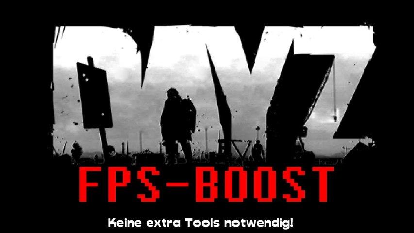 [TUT] DayZ FPS Boost  (No extra Tool!) [ARMA2-MOD!]