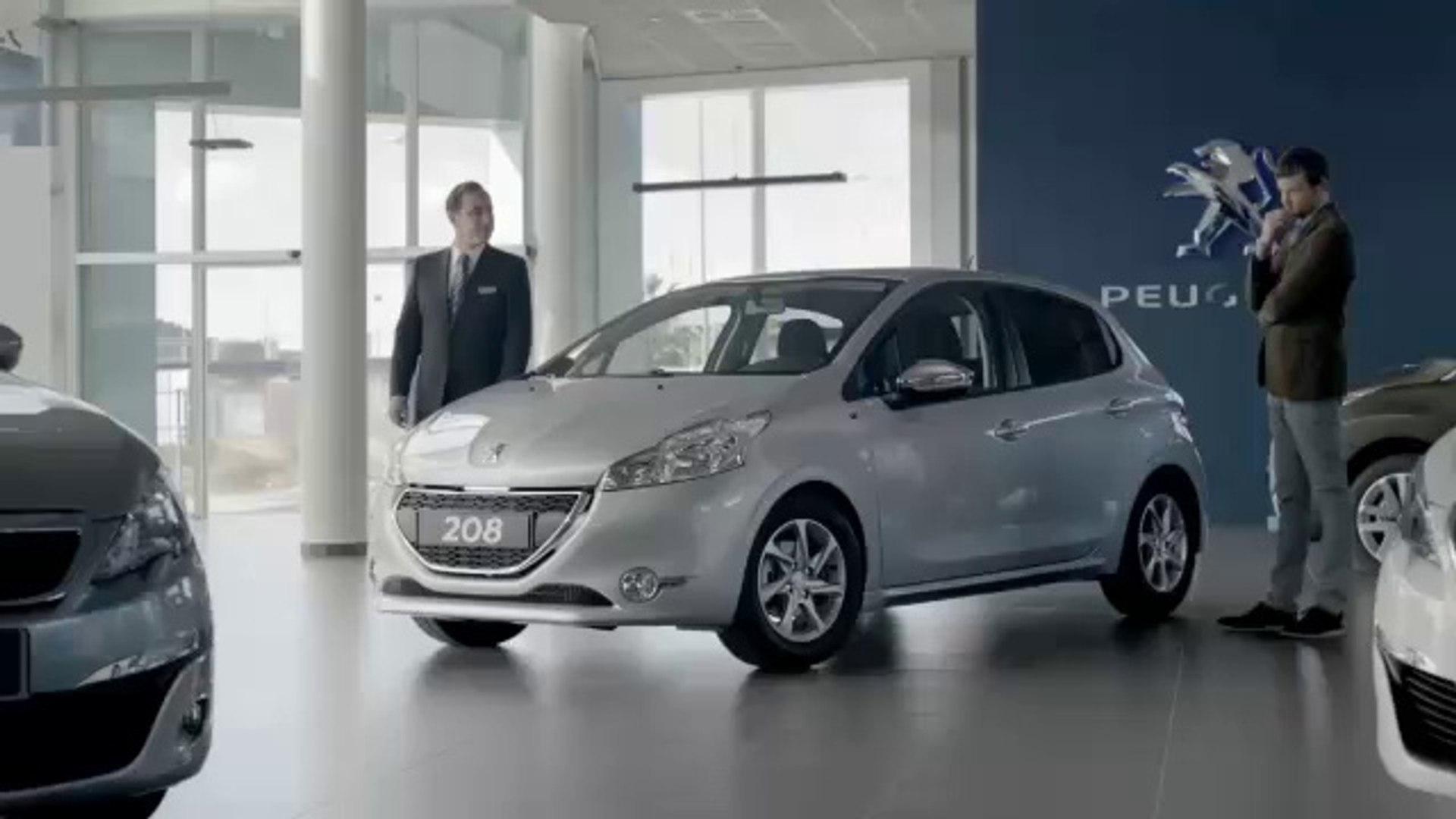 Publicité Peugeot 208 – Suréquipée – TVA 0% (30s) – 2014 ( ****.feline208.net )