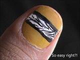 Really short nails- nail designs for short nails to do at home- easy nail art for short nails