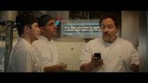 """Jon Favreau, Robert Downey Jr., Scarlett Johansson in """"Chef"""""""
