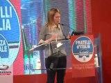 Il discorso-replica di Giorgia Meloni chiude il Primo Congresso Nazionale di Fratelli d'Italia