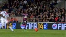 But Henri BEDIMO (90ème +1) - Girondins de Bordeaux - Olympique Lyonnais - (1-2) - 09/03/14 - (FCGB-OL)