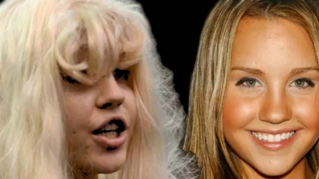 Amanda Bynes Evolution - Amanda Bynes Face Evolution