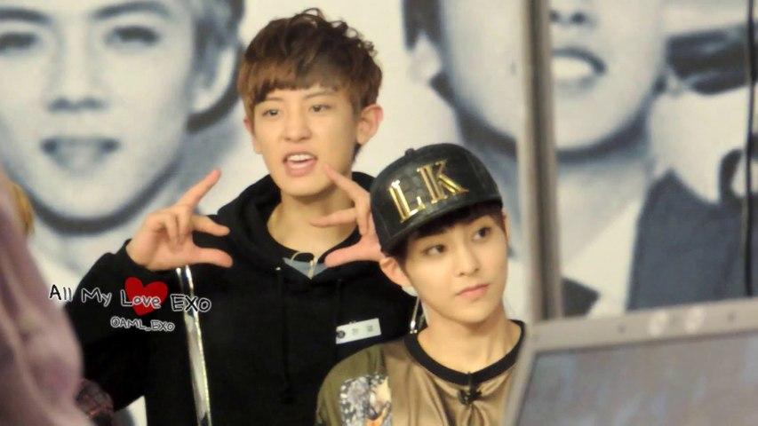 130905 Mnet The Music 찬열 & 시우민~ ♥ EXO