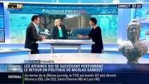 Politique Première: Les affaires qui se succèdent perturbent le retour de Nicolas Sarkozy en politique - 10/03