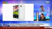 Wiko occupe le troisième rang du marché des ventes de smartphones en France: Virginie Barbier, dans GMB – 10/03